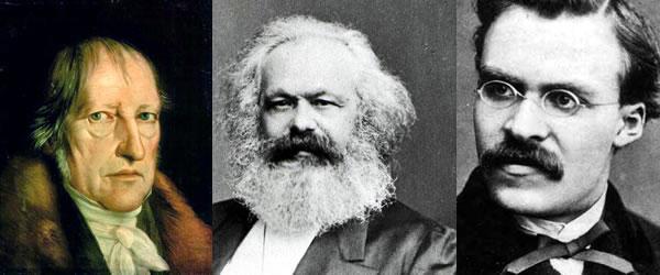 Hegel, Marx & Nietzsche mundane horoscope image