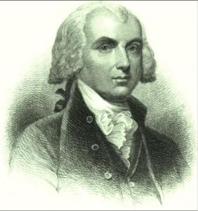 James Madison mundane horoscope image