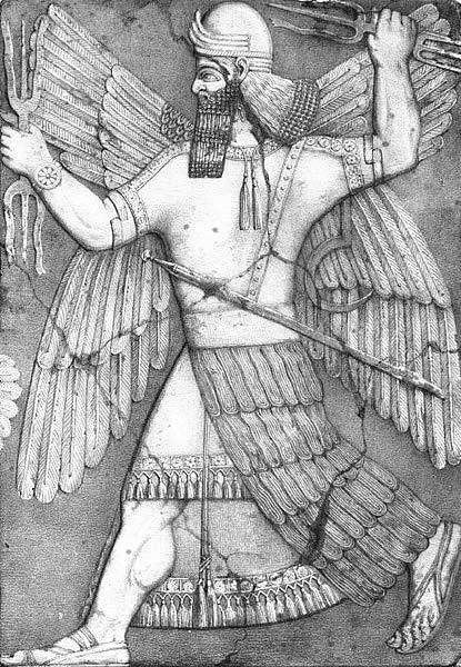 Ninevah War God image